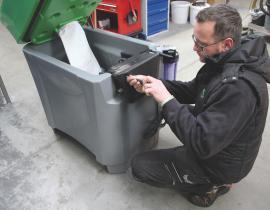 Обслуживание и очистка моечного оборудования