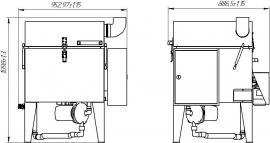 Автоматическая промывочная установка АМ600 АК схема