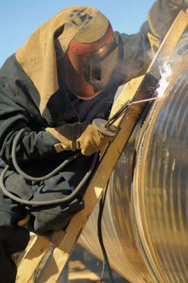 Безопасное разделительное средство от сварочных брызг, в том числе при высокотемпературной сварке E-WELD 2