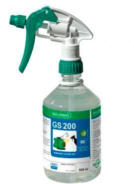 GS 200 бутылка из ПЭТ с распылителем 500 мл